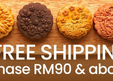Early Bird Promotion! Free shipping for purchased of RM90 and above.